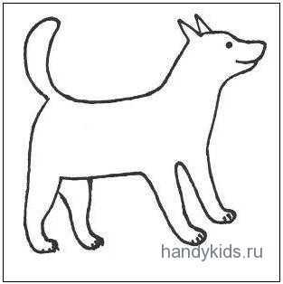 как разукрасить собаку разукрашивать собак